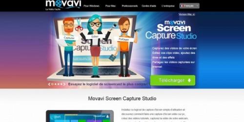 Movavi Screen Capture Studio pour capturer des vidéos