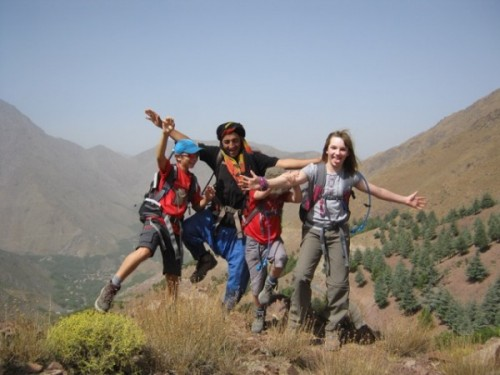 trekking en montage