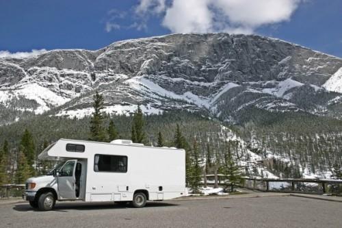 campingcar montagne