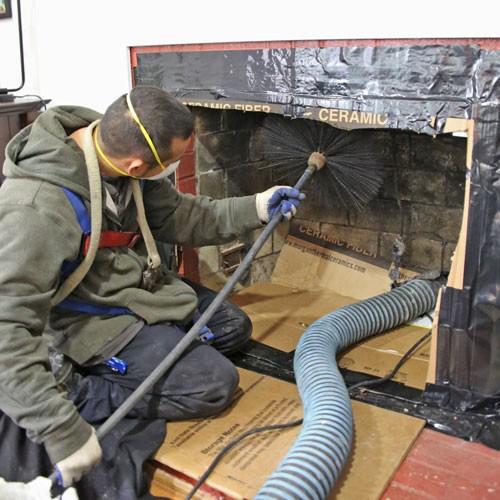 ramoner régulièrement sa cheminée